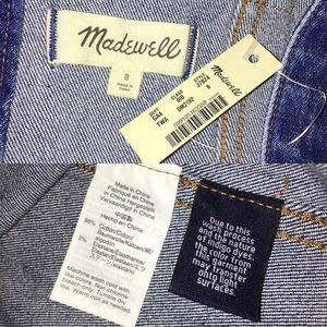 Madewell Dresses - Madewell Raw-Hemmed Denim Seamed Dress Sz 8 NWT